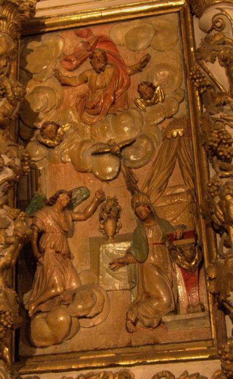 Retable de la chapelle du Rosaire - L'Annonciation