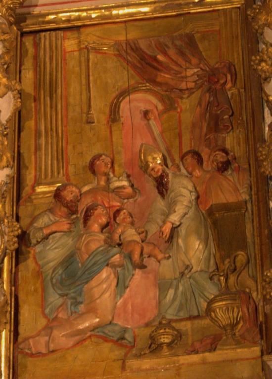 Retable de la chapelle du Rosaire - L'Epiphanie
