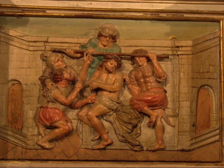 Retable de la chapelle du Rosaire - La couronne d'épines
