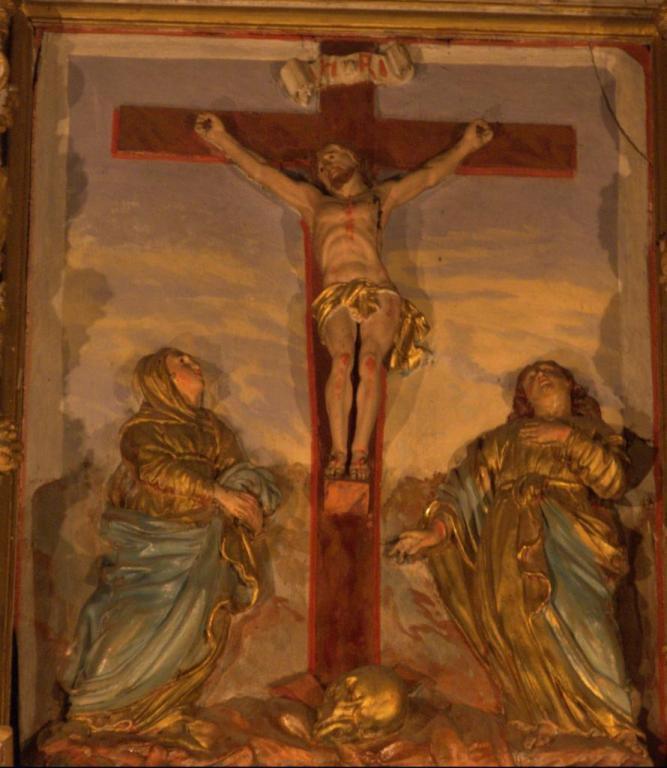 Retable de la chapelle du Rosaire - La Crucifiction
