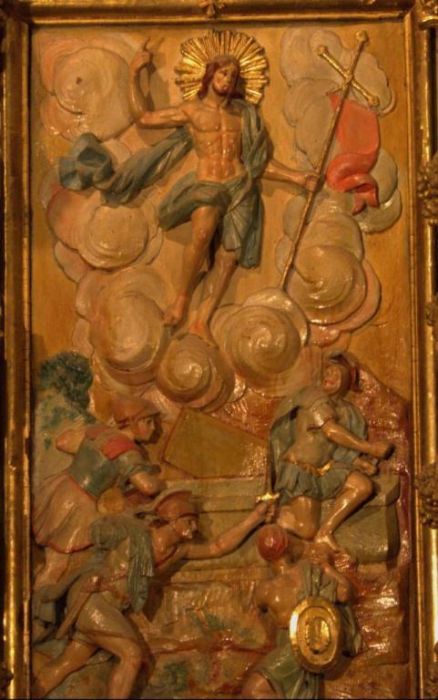 Retable de la chapelle du Rosaire - la Résurrection