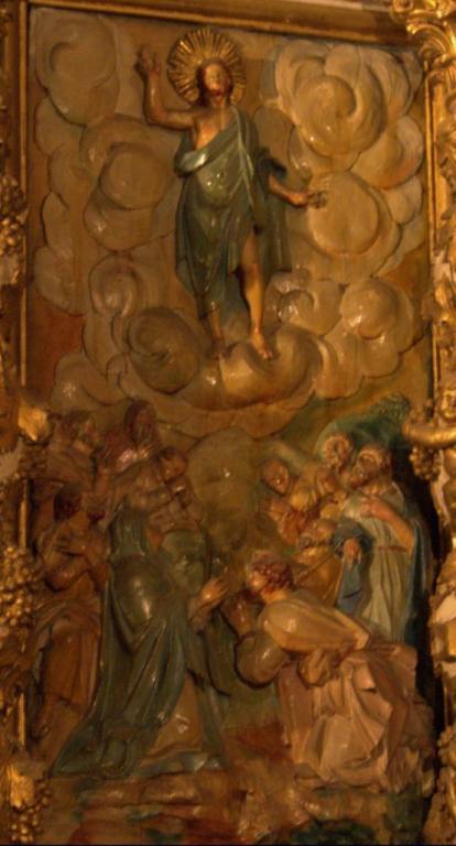 Retable de la chapelle du Rosaire - l'Ascension