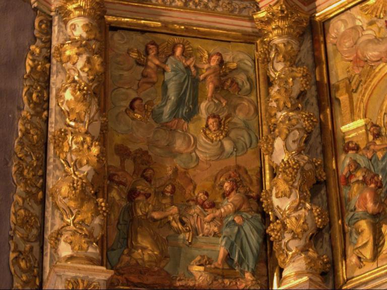Retable de la chapelle du Rosaire - l'Assomption