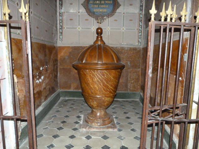 Baptistère d'époque restauration - XIXème siècle