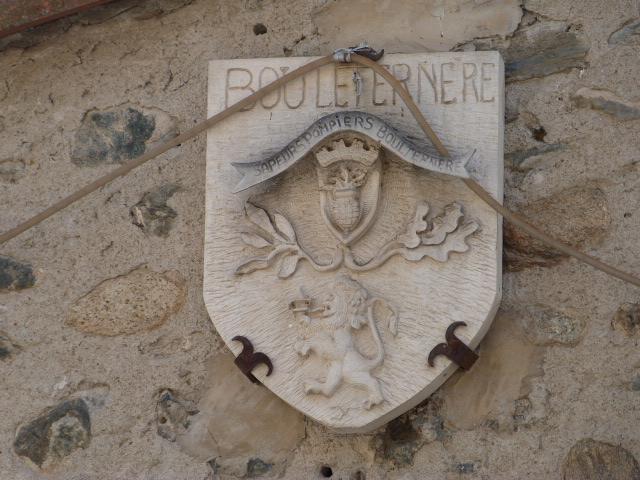 Blason de la caserne de pompier de Bouleternère
