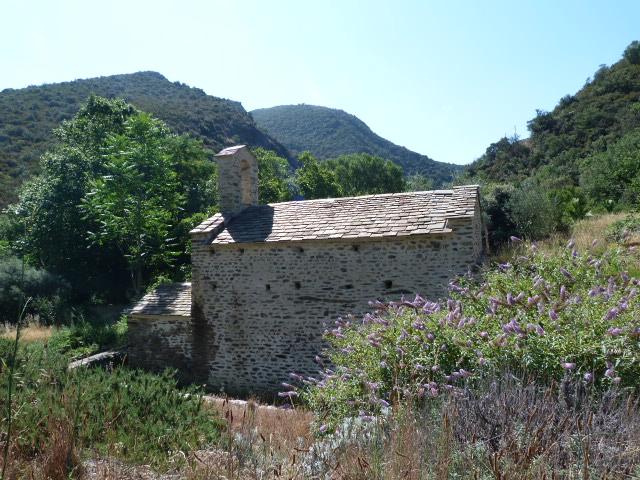 Chapelle Sant-Nazari de Barbadell, vestiges du village de Barbadell & La font de Sant-Nazari