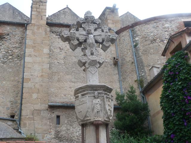 Croix gotique - Place del Ram