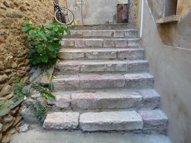 Escalier en marbre - Maison del Palau