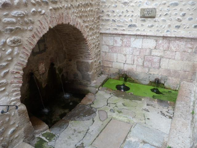 Fontaine de la porte de la Ville