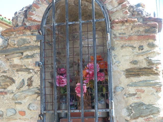 Oratoire près de l'office de tourisme de Rodes
