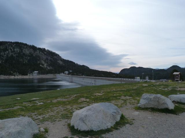 Lacs du Carlit - Départ, lac des Bouillouses