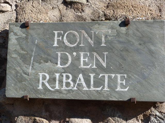 La Font d'en Ribalte