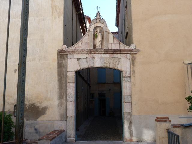 L'hospice d'Ille - Détail
