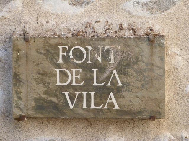 Font de la Vila
