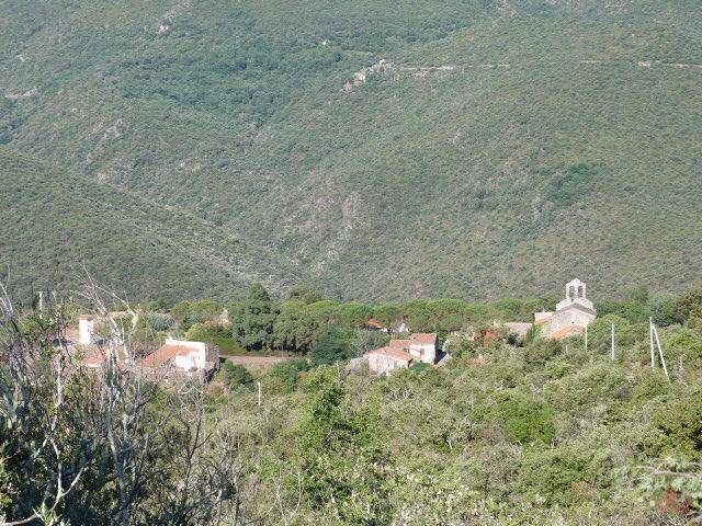 Le village vu en descendant du col de Ste Marguerite