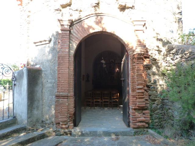 Entrée de l'église