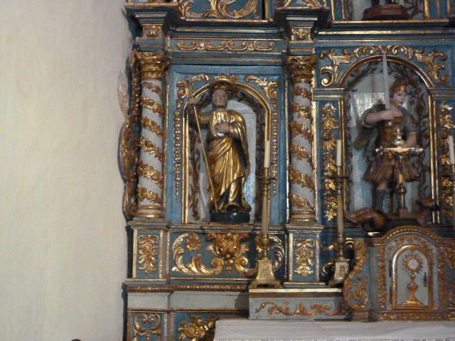 Retable du Maitre-Autel - Saint Joseph