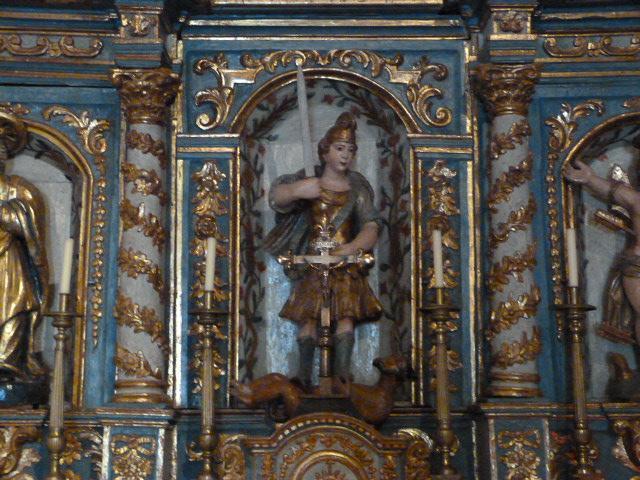 Retable du Maitre-Autel - Saint Michel