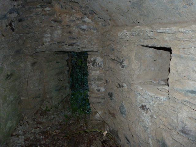 Pou del gel de Bouleternère - Tunnel de l'entrée