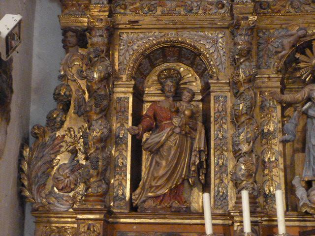 Maître-autel - Détail