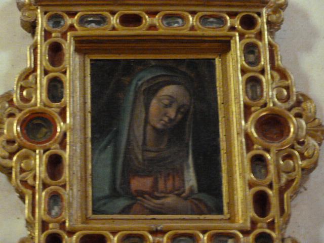 Vierge Maria de Domanova - Détail