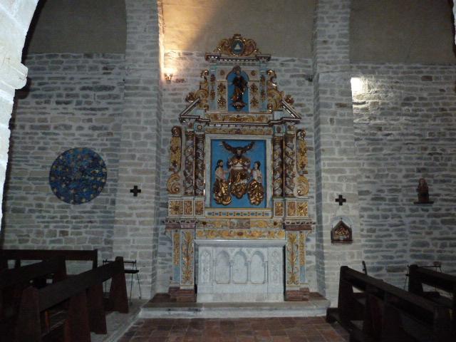 Chapelle de la Trinité - Retable