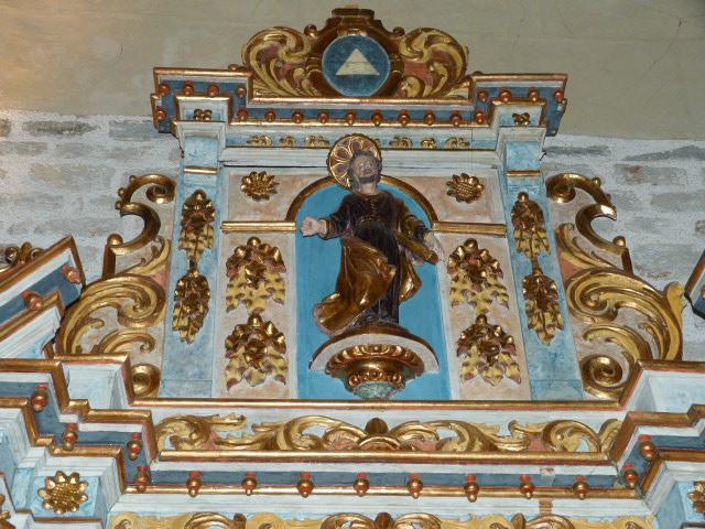 Chapelle de la Trinité - Détail du Retable
