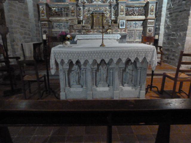 Chapelle de la Trinité - Maitre autel