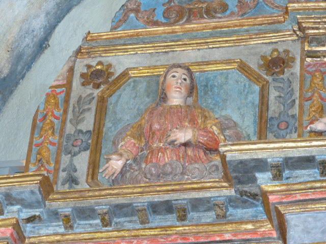 Chapelle de la Trinité - Détail du retable du Maitre autel