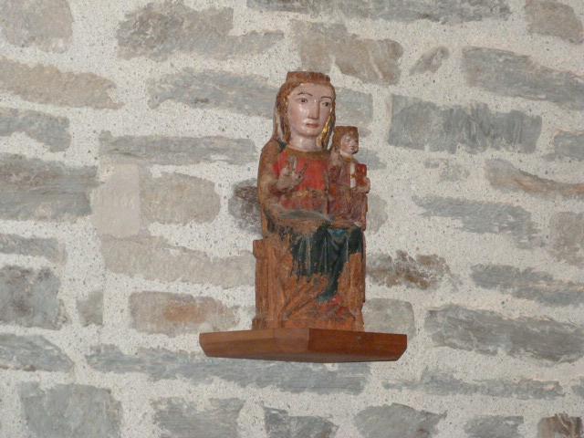 Chapelle de la Trinité - Vierge à l'enfant