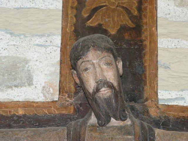 Chapelle de la Trinité - Christ du XIIème siècle dit Christ en Majesté