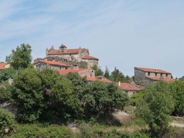Le hameau et l'église de Notre Dame de la Gradas