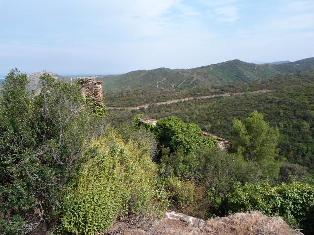 Ruines du village de Corbère de Dalt