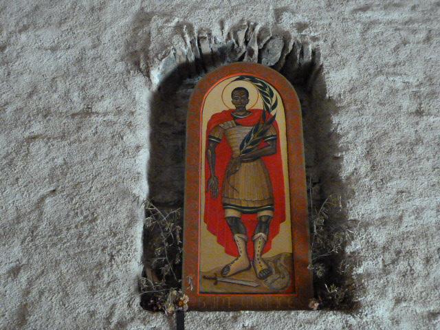 Notre Dame de Greolera - Tableau représentant St Maurice