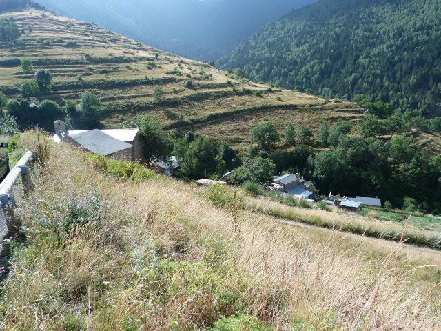 Le village en contrebas