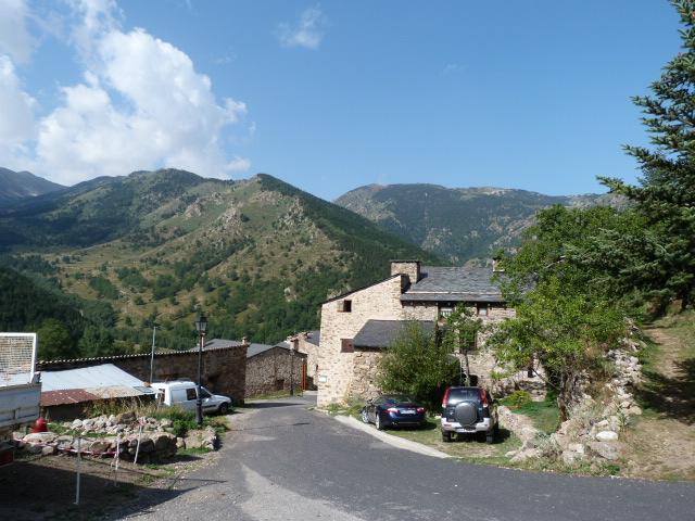 Mantet - Le village