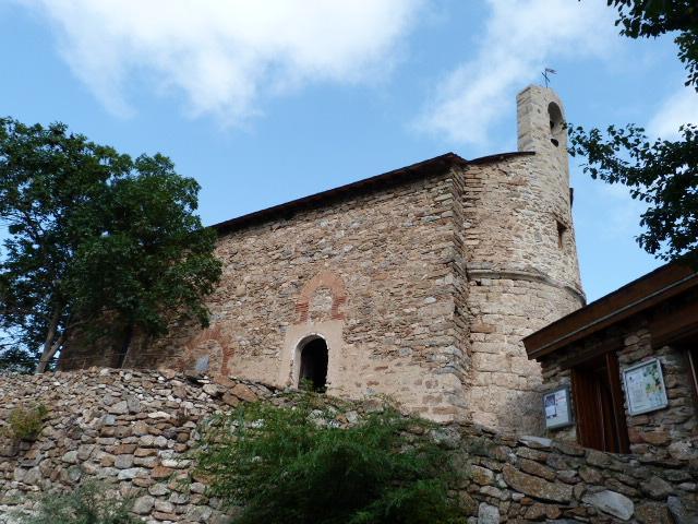 L'église Saint-Vincent de Mantet