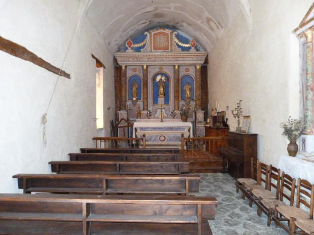 L'église Saint-Vincent de Mantet - Le Maitre-Autel