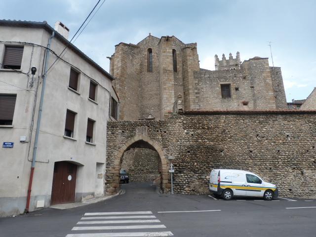 Porte de la ville - Vue extérieur