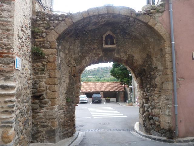 Porte de la ville -Vue intérieur