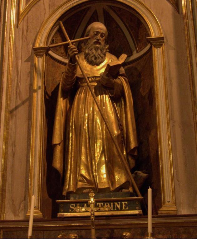 Saint-Antoine le Grand ou l'Egyptien