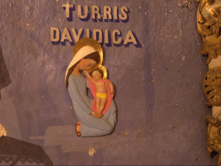Sculture murale (Chapelle du Rosaire)