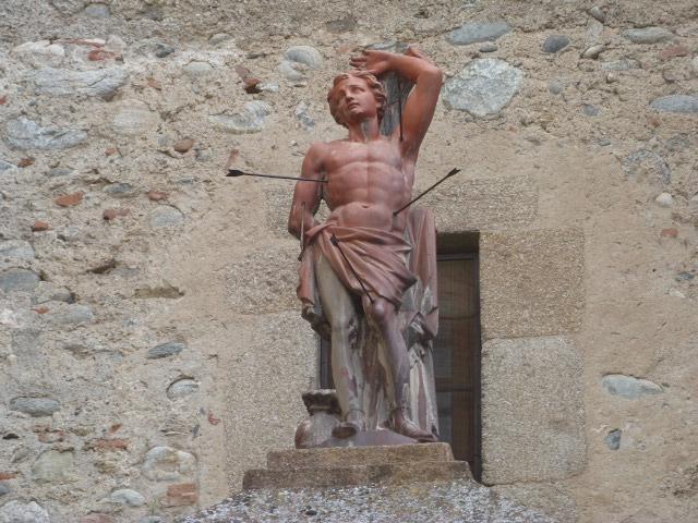 Statue de Saint-Sébastien - Place del Ram