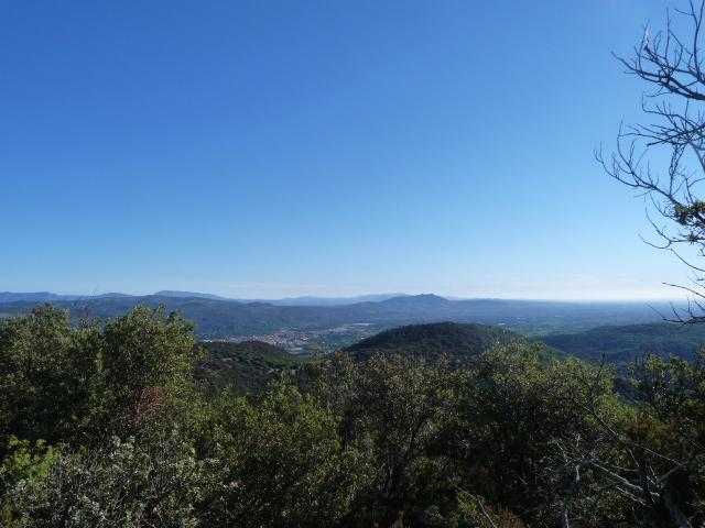 Paysage vue du col de la Liosa